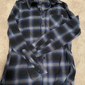 Dress shirt men's long sleeve